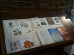 view of books by Ivan Klima and illustrated by Hana Pavlatová